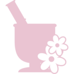 mortar-with-flowers